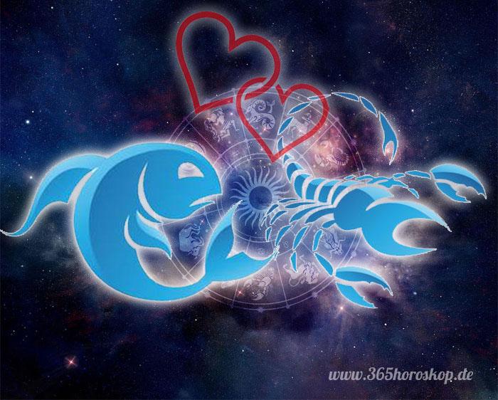 Fisch und skorpion im bett