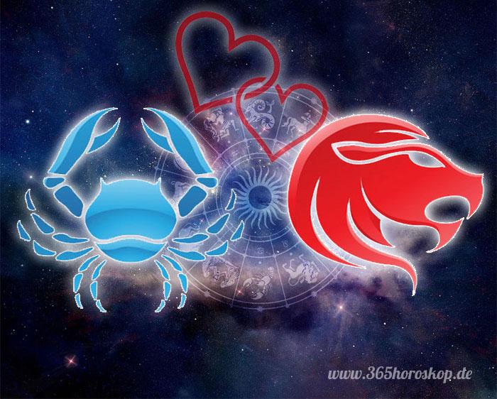 Krebs Löwe Partnerhoroskop - Liebe