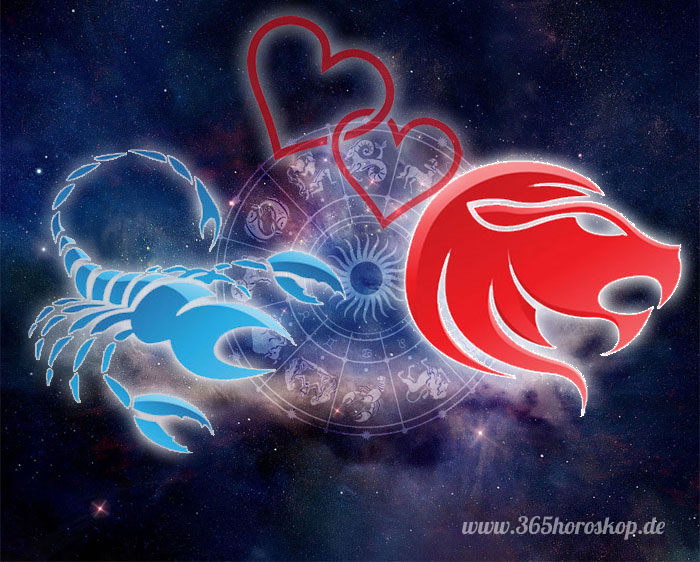 löwe und skorpion frau