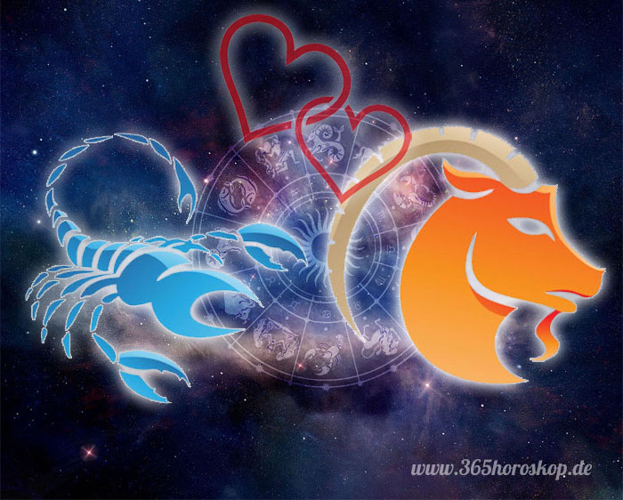 Skorpion Steinbock Partnerhoroskop - Liebe