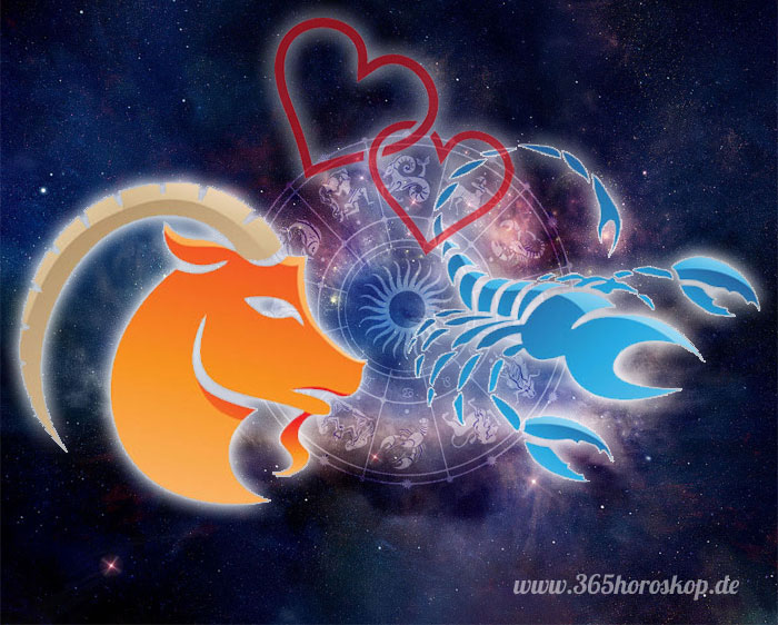 Steinbock Skorpion Partnerhoroskop - Liebe