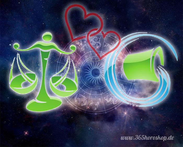 Waage Wassermann Partnerhoroskop - Liebe
