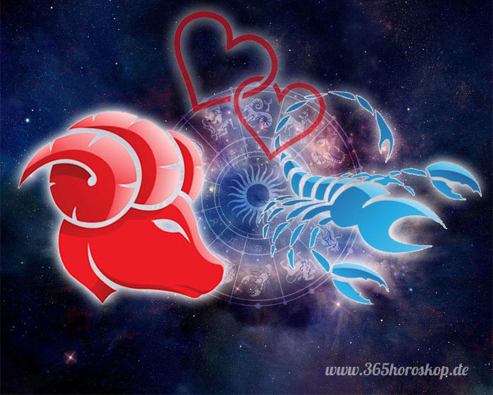 Widder Skorpion Partnerhoroskop - Liebe