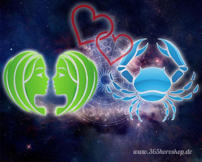 Zwillinge Krebs Partnerhoroskop - Liebe