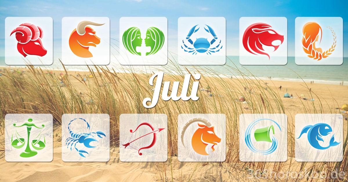 Juli Horoskop 2021