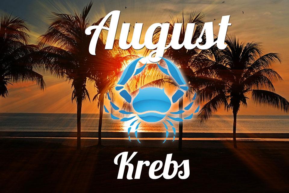 Krebs horoskop August