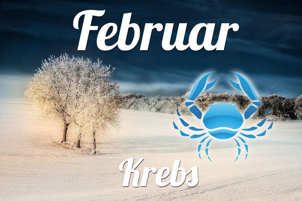 Krebs horoskop Februar