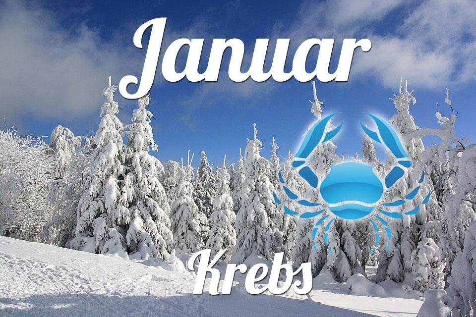 Krebs horoskop Januar