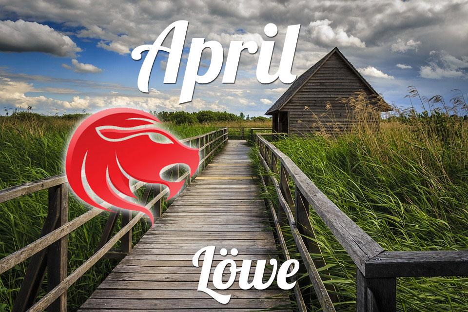 Löwe horoskop April