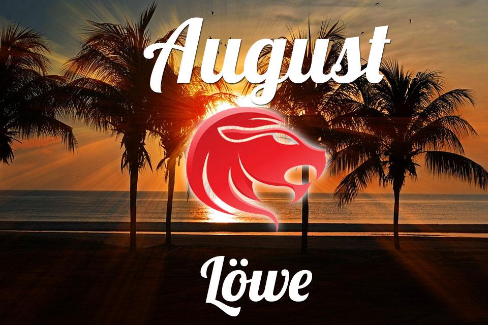 Löwe horoskop August