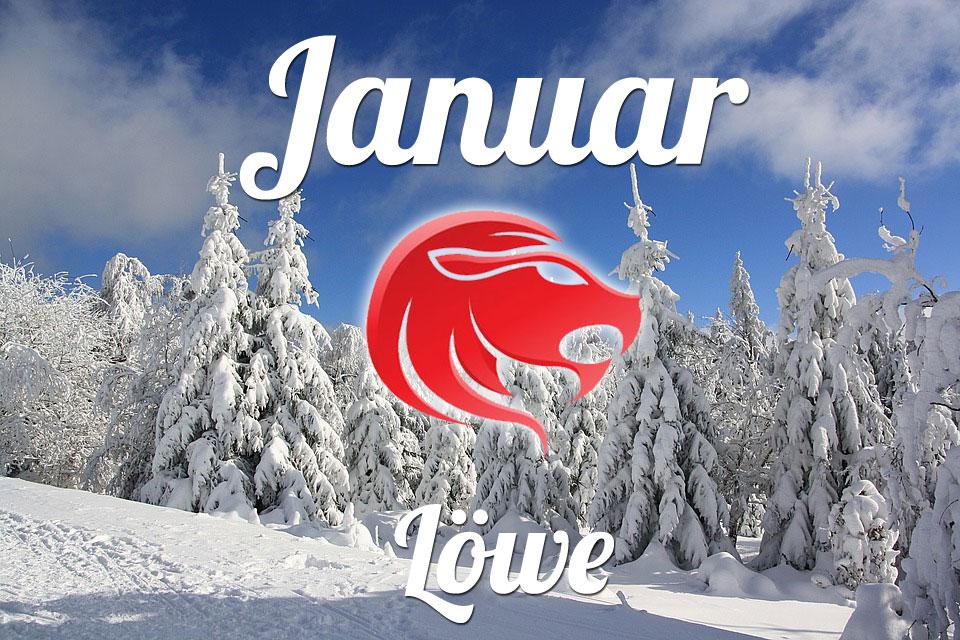 Löwe horoskop Januar