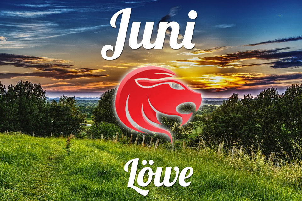 Löwe horoskop Juni