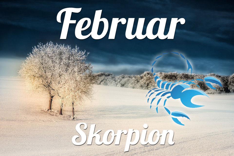 Skorpion horoskop Februar