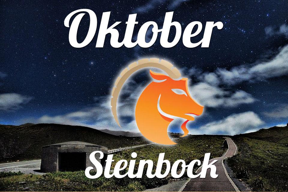 Steinbock Oktober 2020