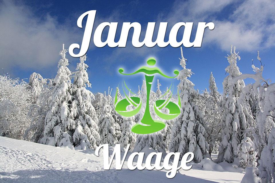 Waage horoskop Januar