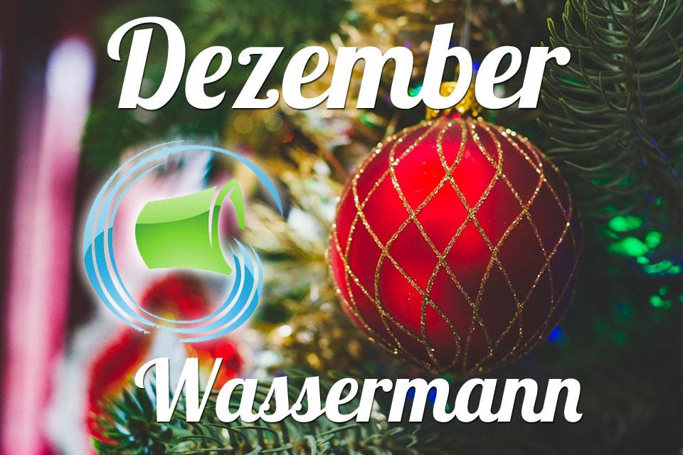 Wassermann Dezember 2019