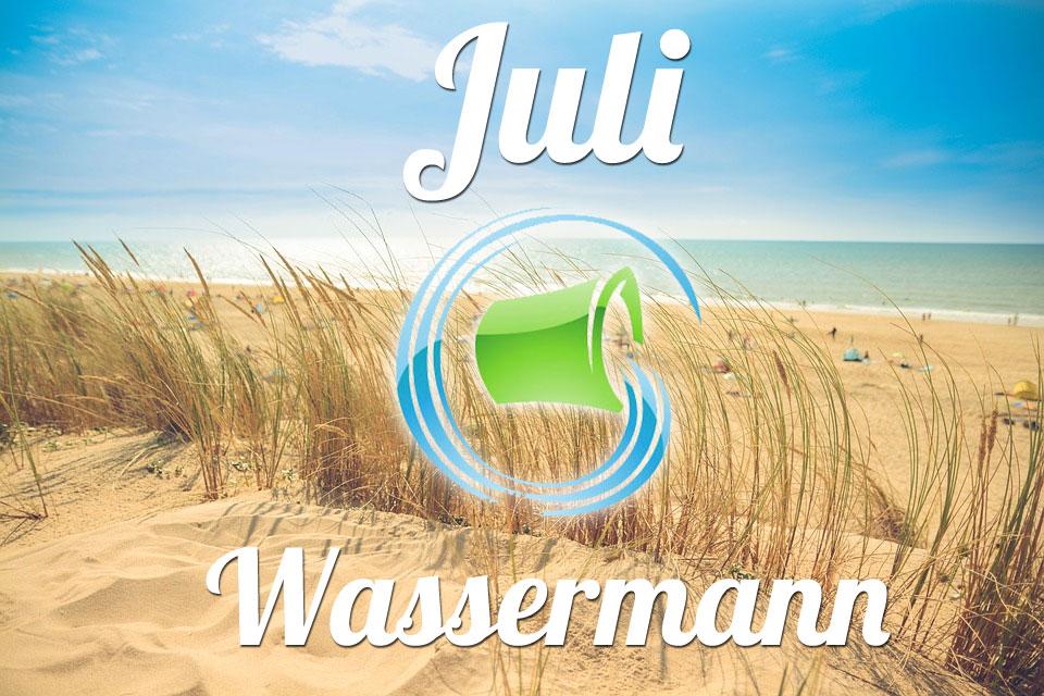 Wassermann Juli 2019