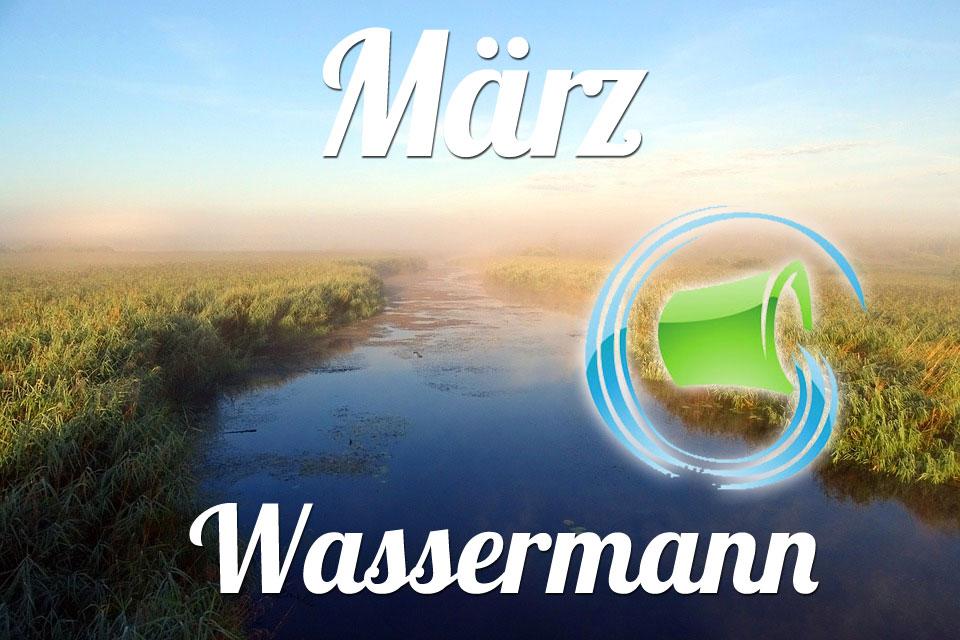 Wassermann März 2019