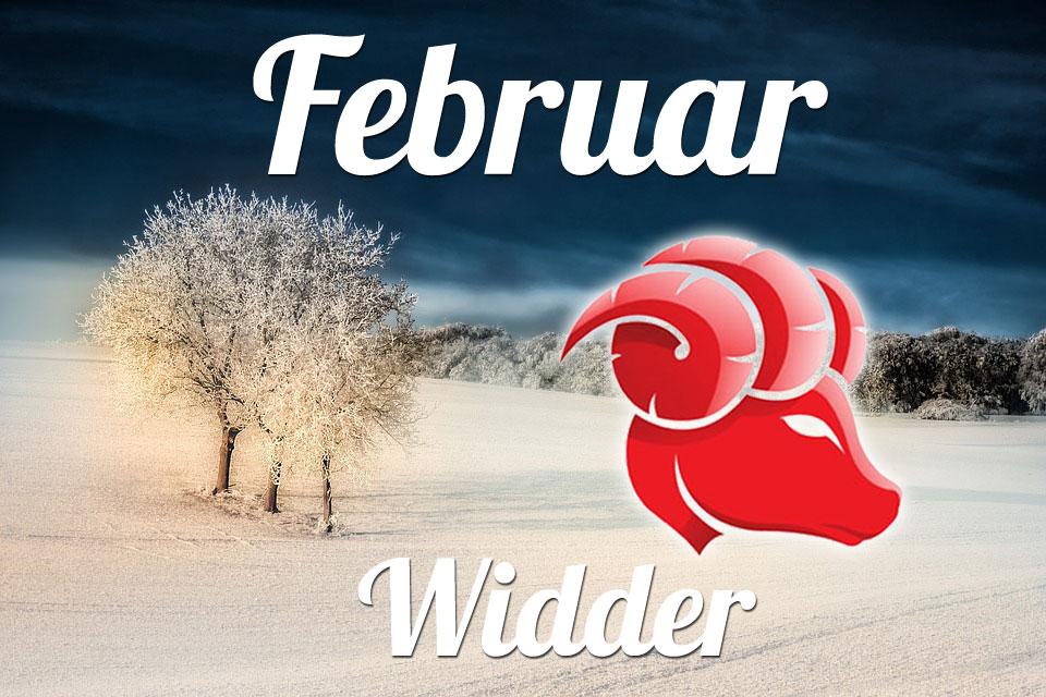 Widder horoskop Februar