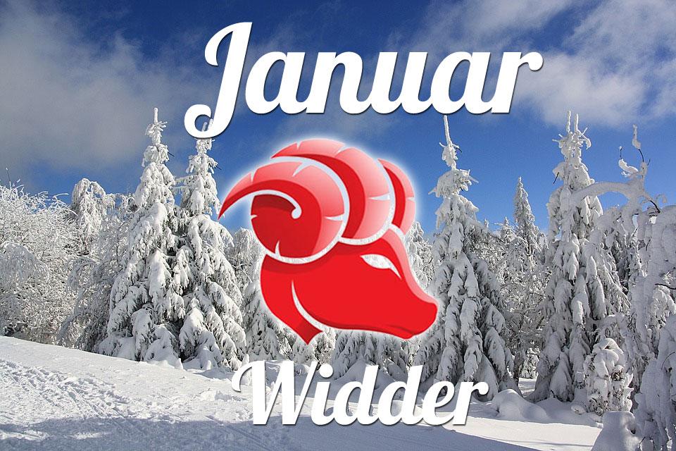 Widder horoskop Januar