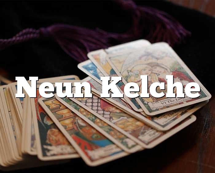 Neun Kelche