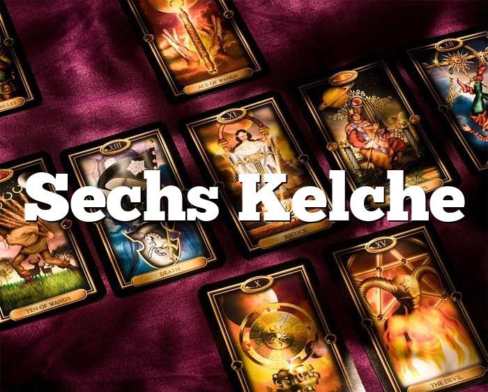 Sechs Kelche