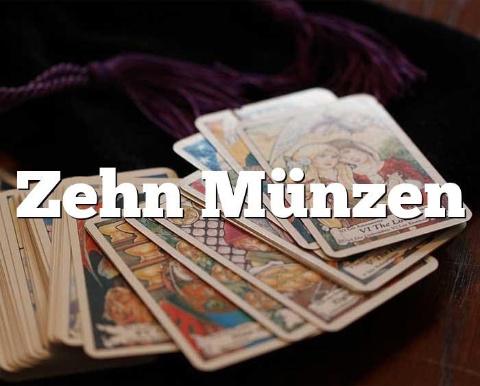 Zehn Münzen