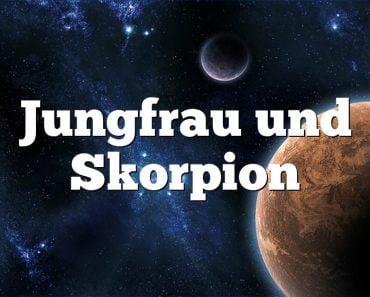 Jungfrau und Skorpion