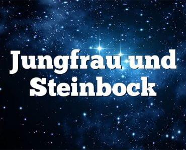 Jungfrau und Steinbock