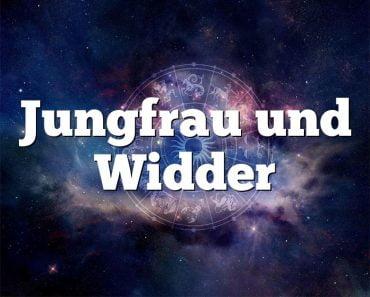 Jungfrau und Widder