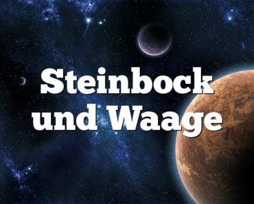 Steinbock und Waage