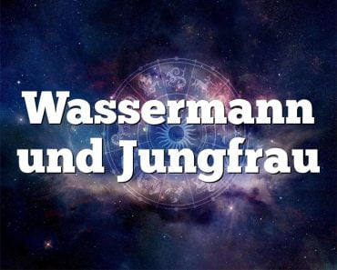 Wassermann und Jungfrau
