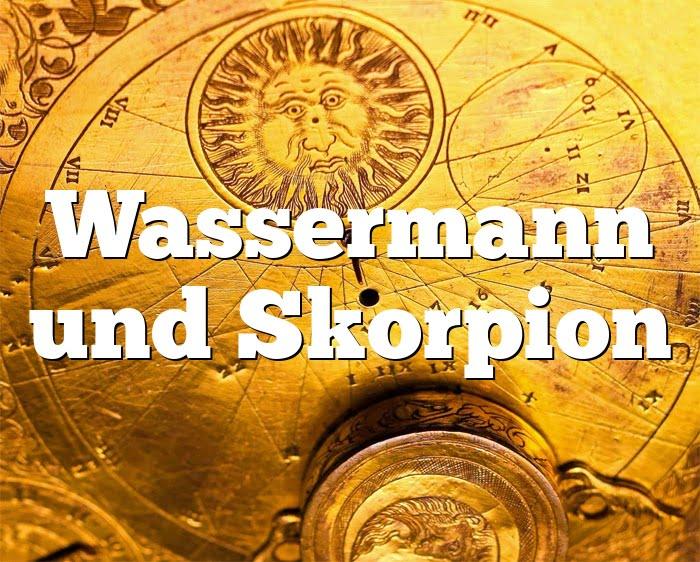 Wassermann Frau Und Skorpion Mann