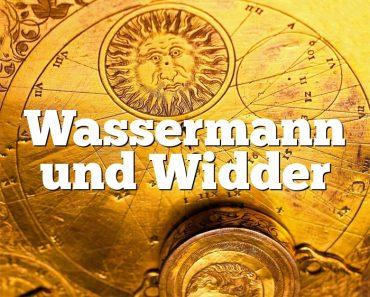 Wassermann und Widder