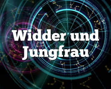Widder und Jungfrau