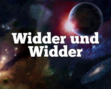 Widder und Widder