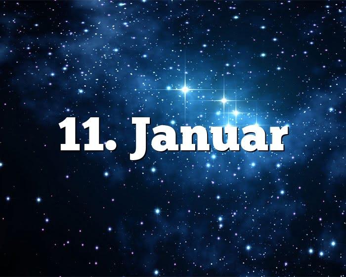 11. Januar