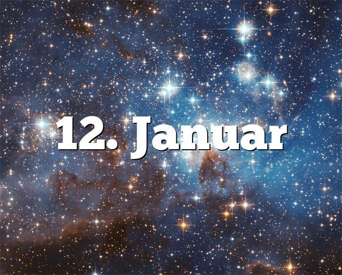 12. Januar
