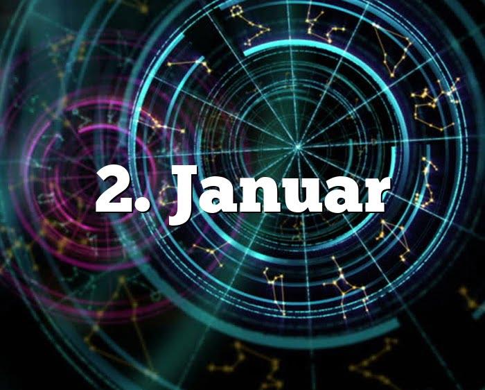 Sternzeichen 2. Januar