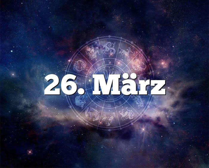 26. März