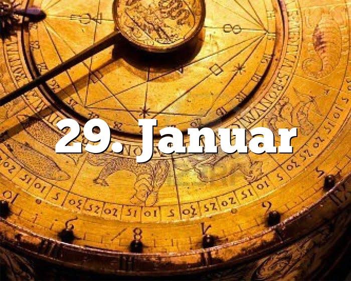 29. Januar