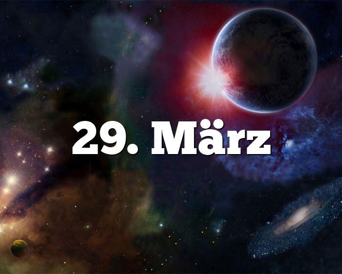 29. März