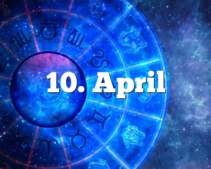 10. April