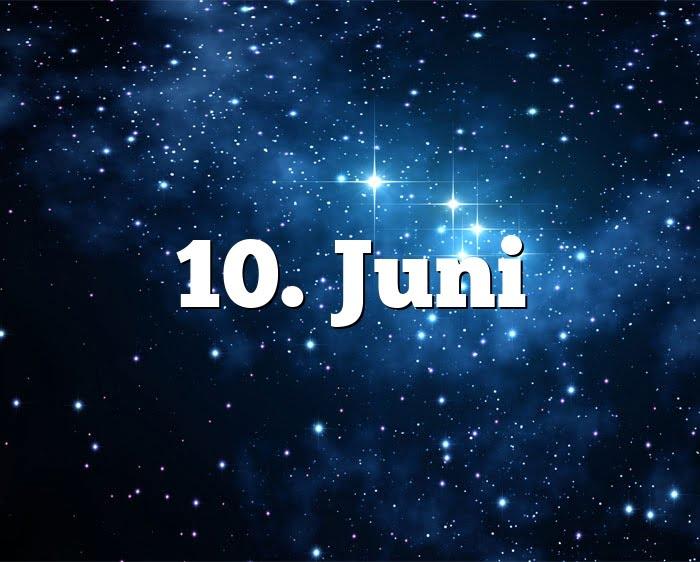 Sternzeichen Für Juni