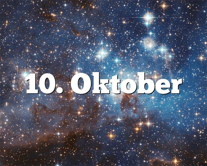 10. Oktober
