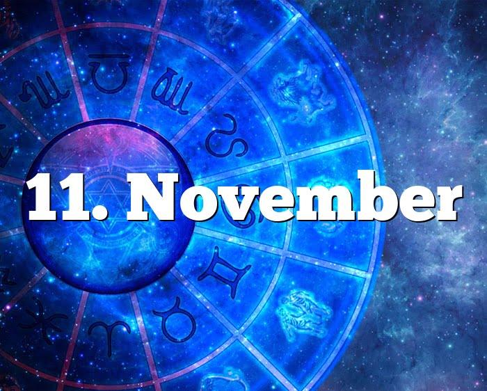 Sternzeichen Von November