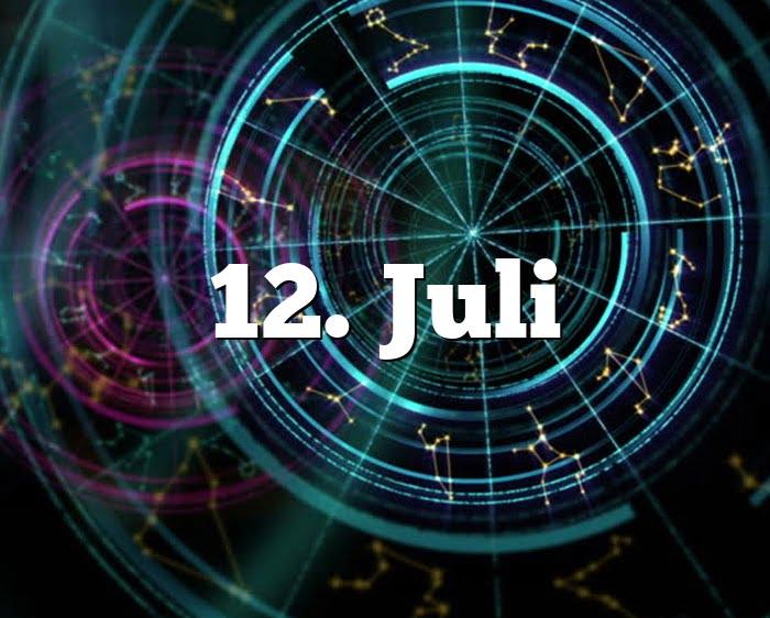 12. Juli