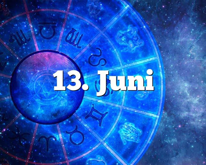 13. Juni