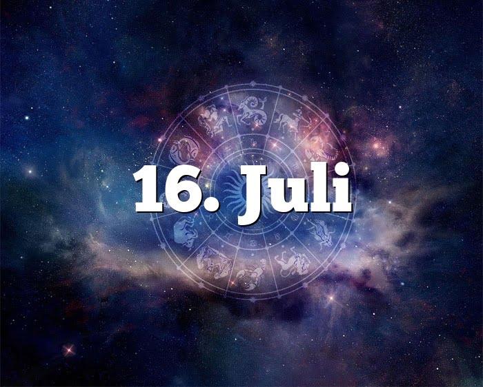 Sternzeichen 16 Juli