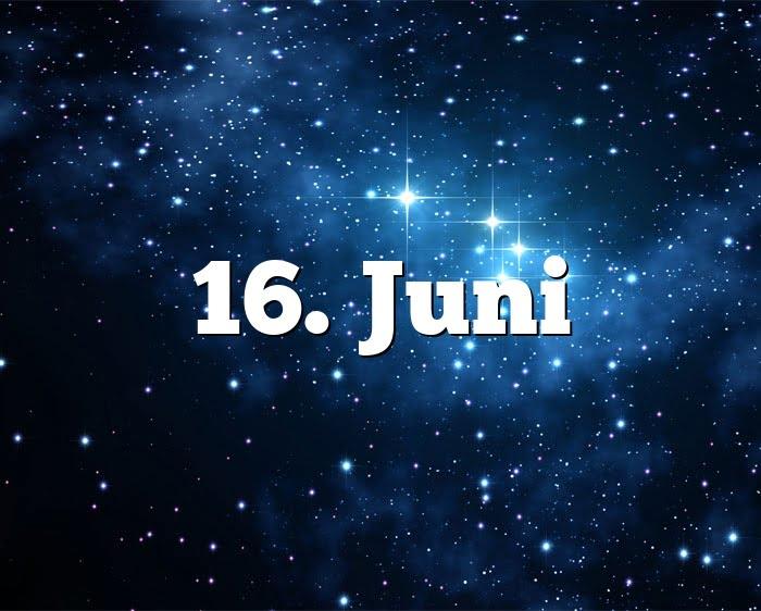 16. Juni